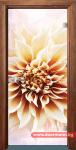 Стъклена врата модел Print 13-5 – Златен дъб