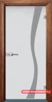 Стъклена врата модел Sand 14-1 – Златен дъб