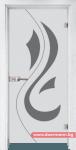 Стъклена врата модел Sand 14-10 – Бреза